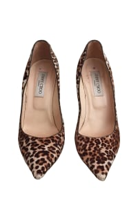 Jimmy Choo Leopard Print Heel Preview Images