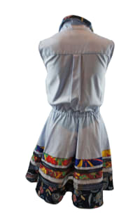 Tommy Hilfiger Blue Shirt Dress 3 Preview Images