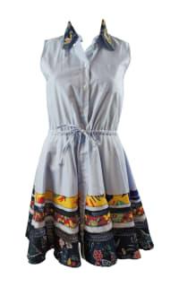Tommy Hilfiger Blue Shirt Dress 5 Preview Images