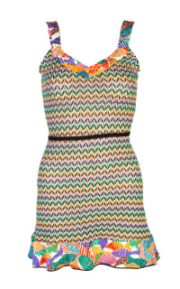 Missoni Pattern Mini Dress 3 Preview Images