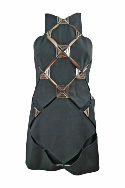 Thierry Mugler Panel Mini Dress 4