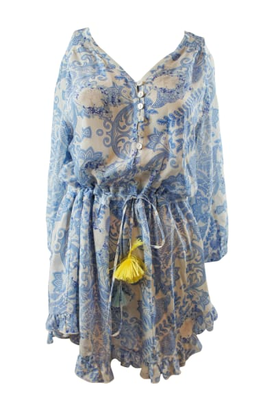 Athena Procopiou Up From The Skies silk dress 4