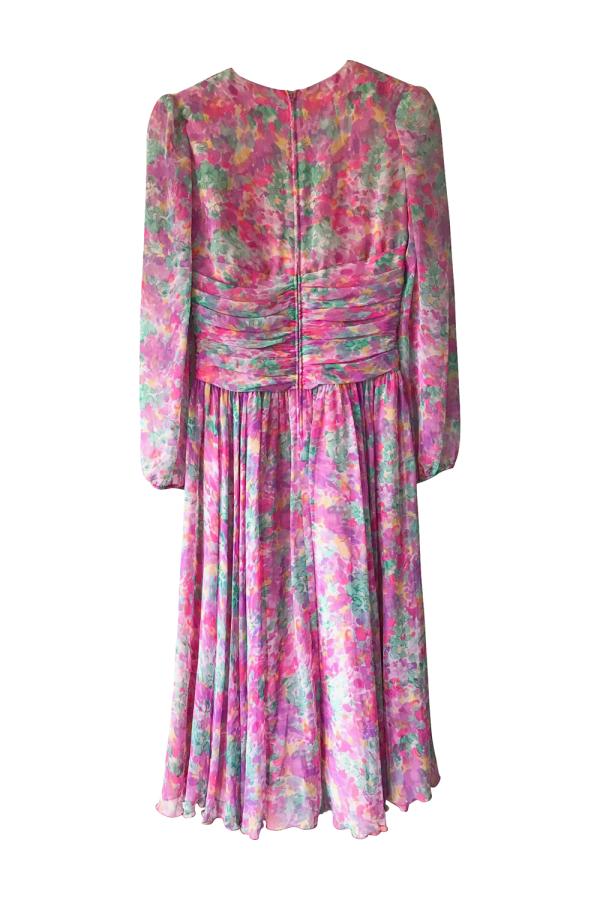 Vintage Floral dress 8