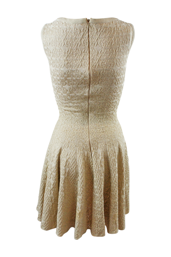 Alaïa Gold Gold-Tone Mini Dress 3