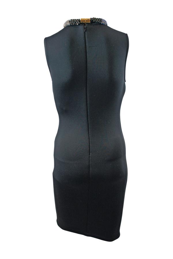 Alexander McQueen Black Sleeveless Beaded dress 2