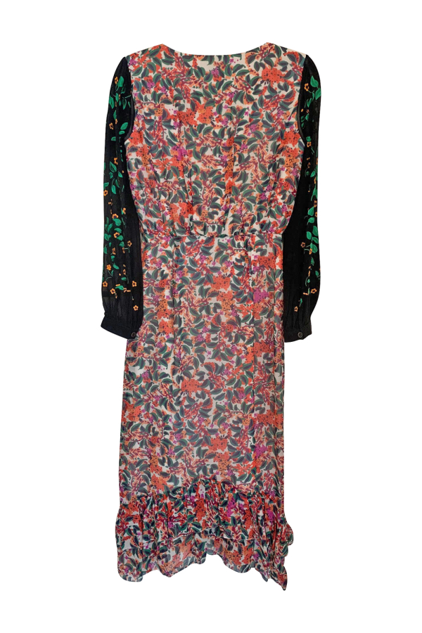 Saloni Floral Midi Dress 2