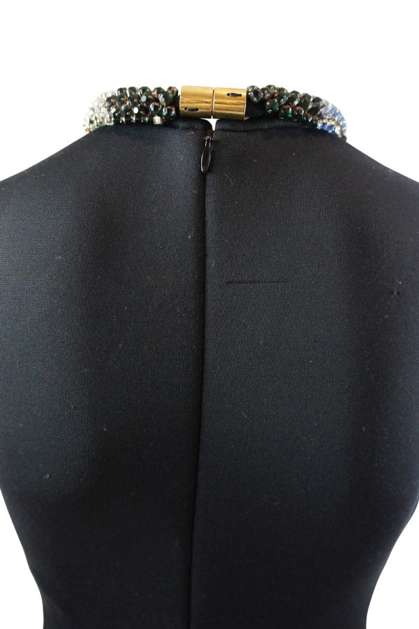 Alexander McQueen Black Sleeveless Beaded dress 3