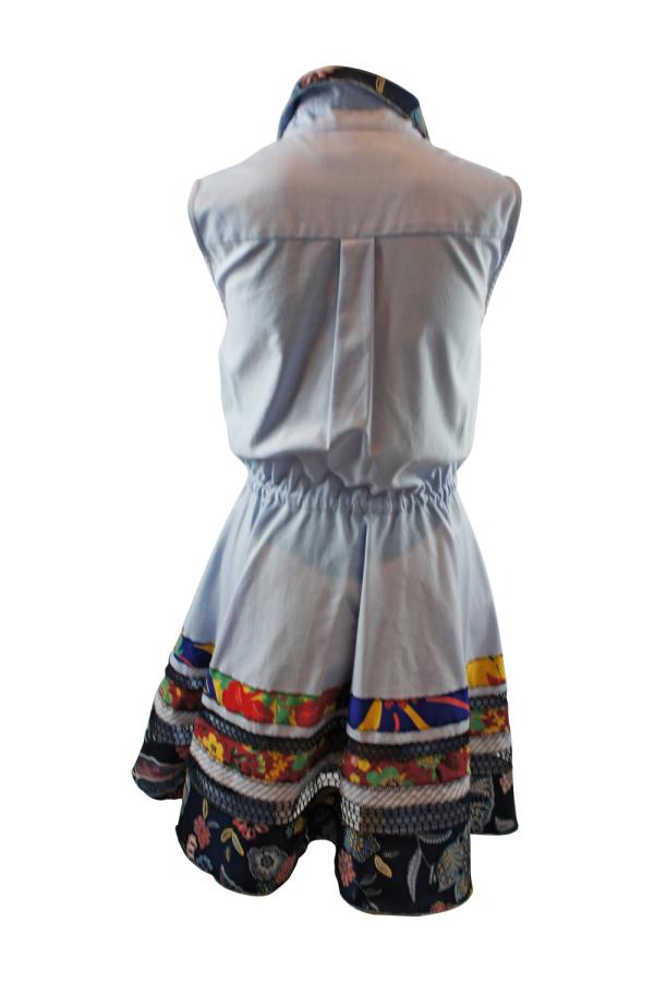 Tommy Hilfiger Blue Shirt Dress 3