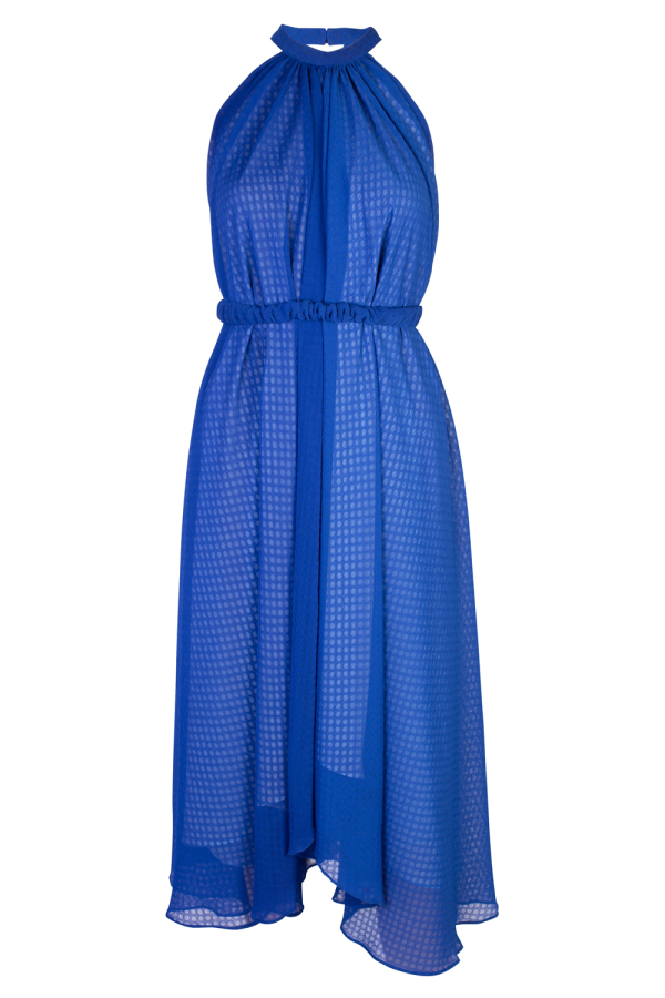 Saloni Iris Halterneck Dress 5