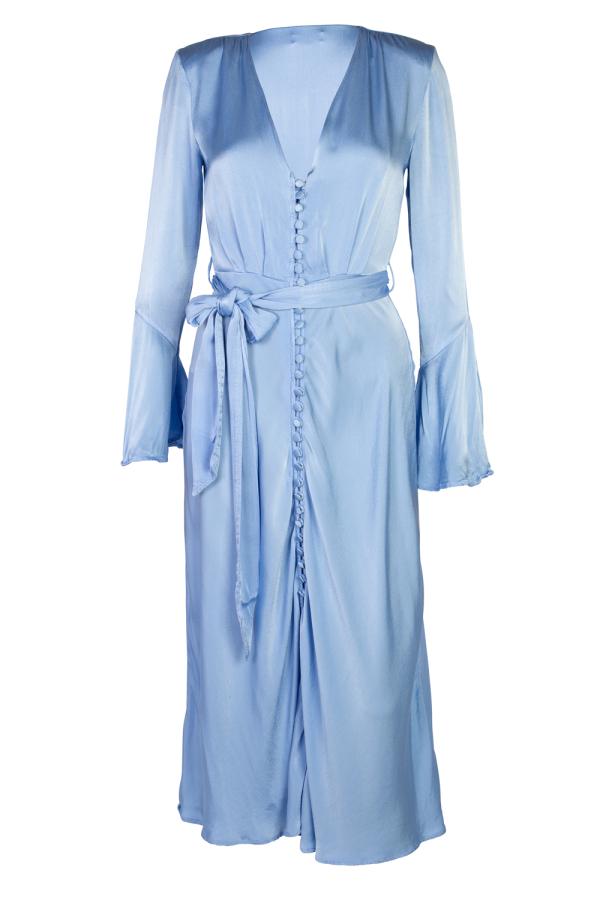 Ghost Annabelle Satin Dress 4