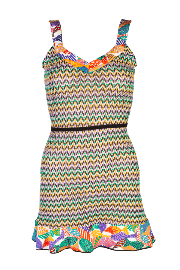 Missoni Pattern Mini Dress 3