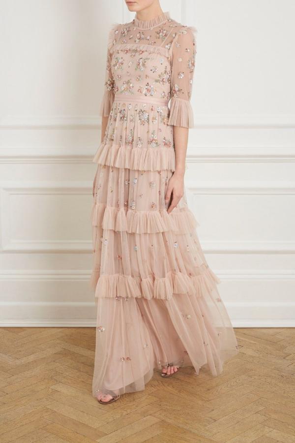 Needle & Thread Lustre Ruffle Gown 2