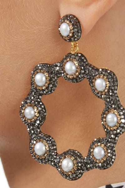 SORU Baroque Pearl Earrings 2