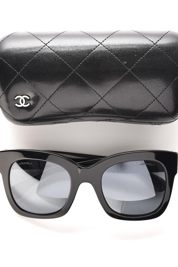 Chanel Mirror Sunglasses  2