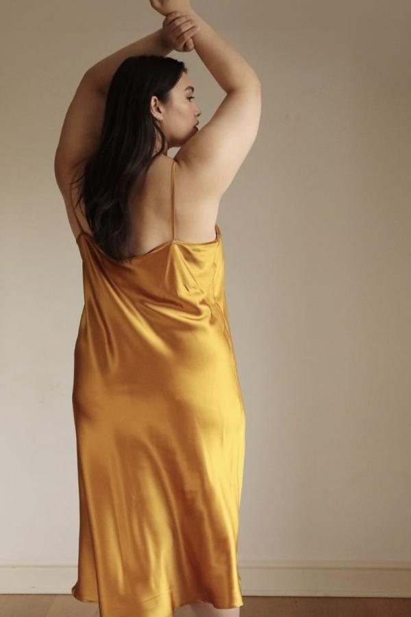 Lora Gene Midi Slip Dress 3 Preview Images