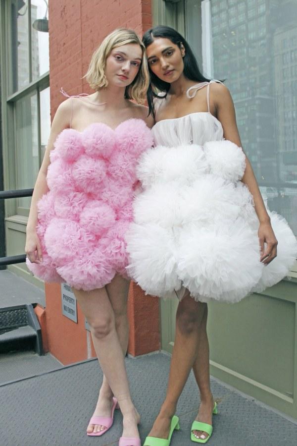 Image 2 of Lirika Matoshi cloud mini dress