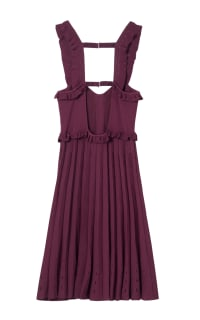 Sandro  Silvi Ruffle Strap A-Line Dress 2 Preview Images