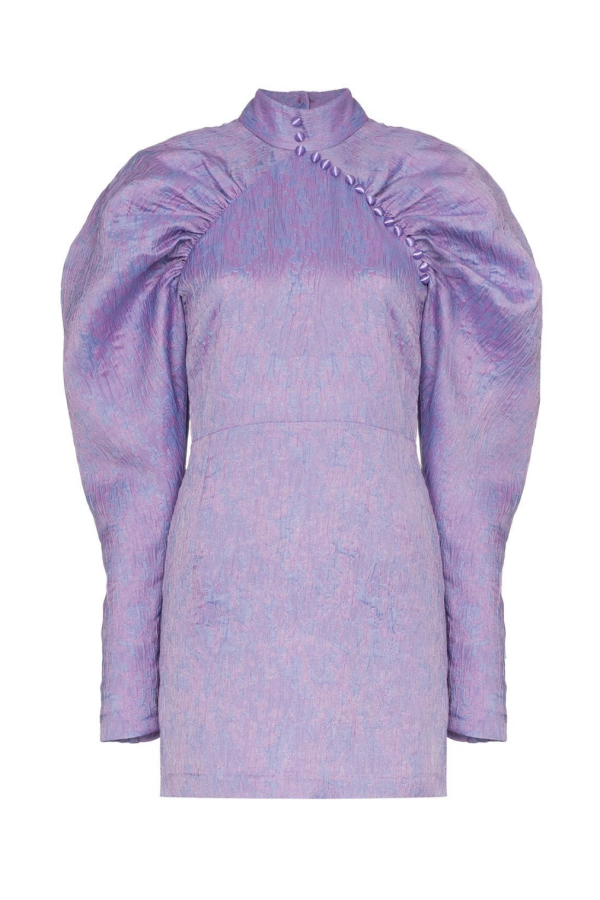 Rotate Puff Sleeve Mini Dress