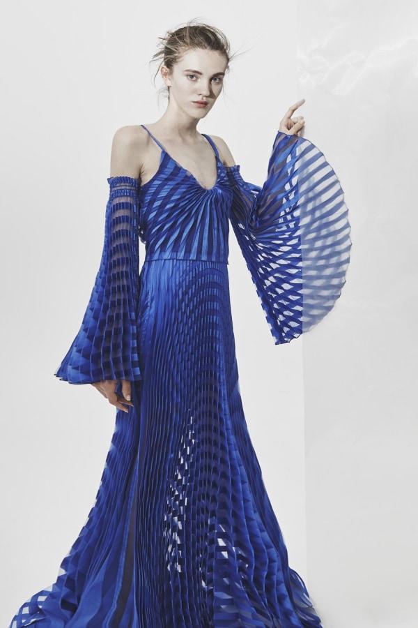 Image 2 of Georgia Hardinge spiral maxi dress
