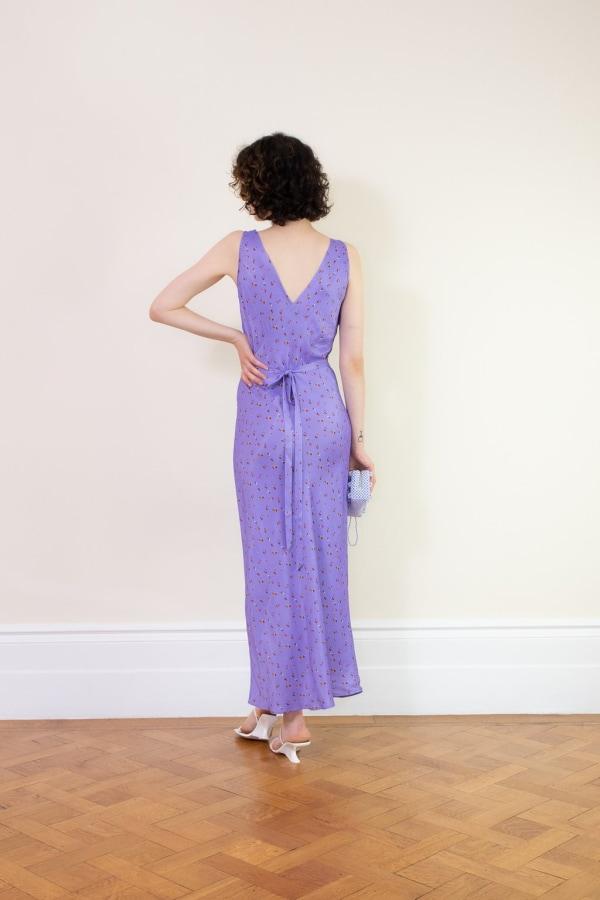 Image 2 of Rat & Boa violeta dress
