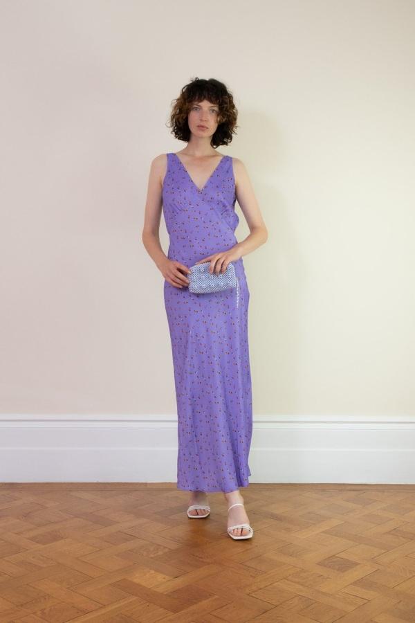 Image 3 of Rat & Boa violeta dress