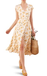 Reformation Carina midi floral dress Preview Images