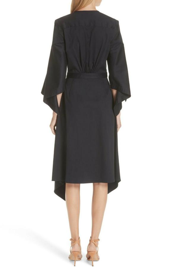 Palmer Harding  Asymmetric Sleeve Shirt Dress  2