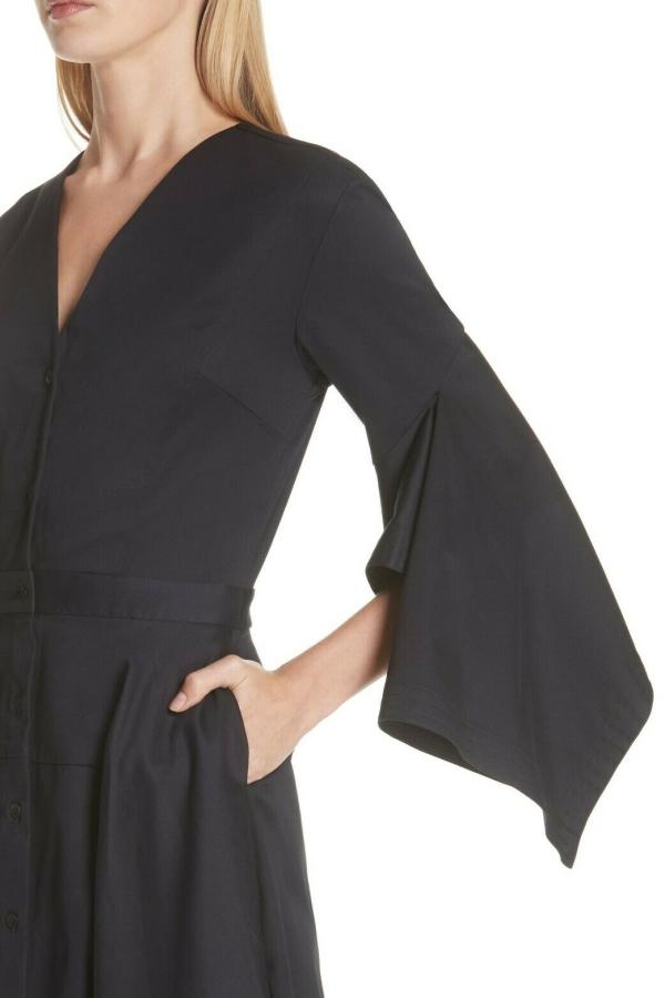Palmer Harding  Asymmetric Sleeve Shirt Dress  3