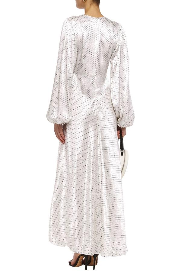 Ganni Cameron polka-dot dress 4