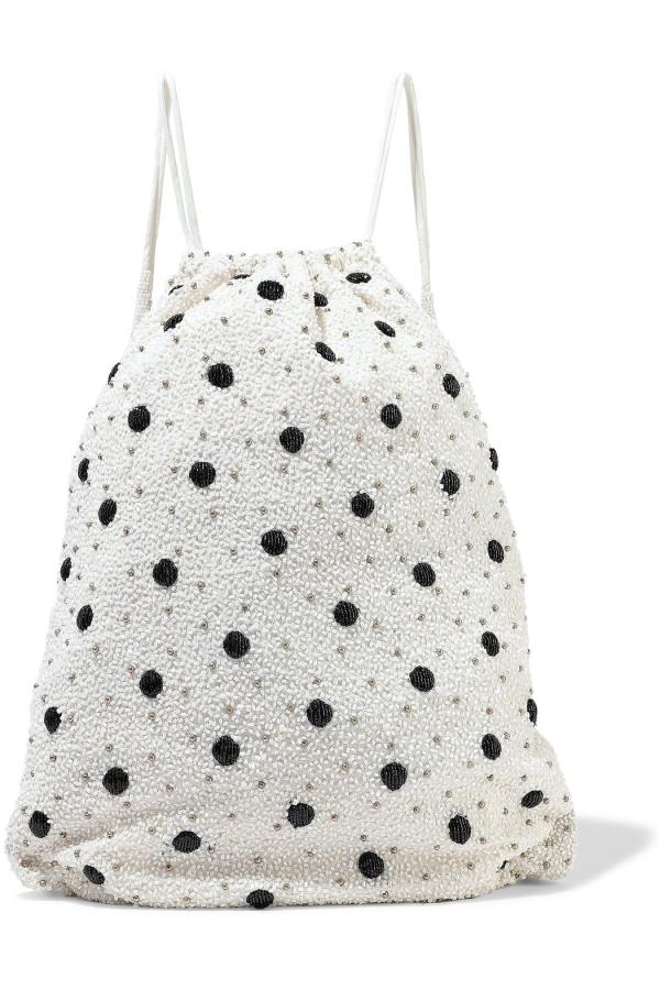 Ganni Wintour sequin embellished bag 6