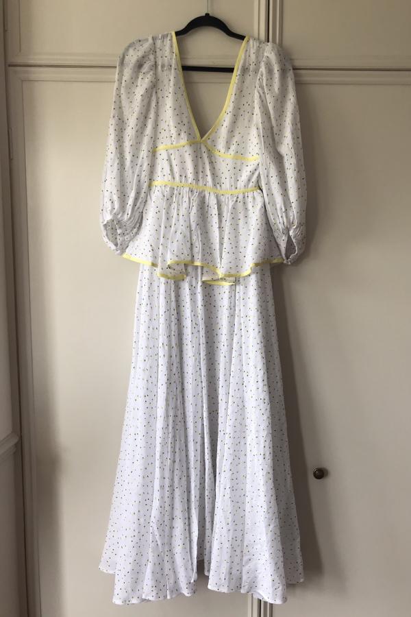 Staud Panarea floral maxi dress  7
