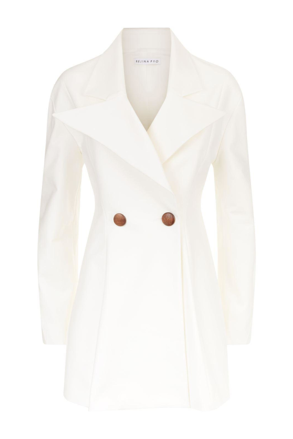 Rejina Pyo Maja ivory coat