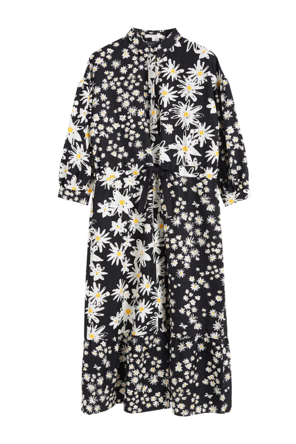 CHINTI & PARKER Daisy Floral Shirt Dress 0 Preview Images