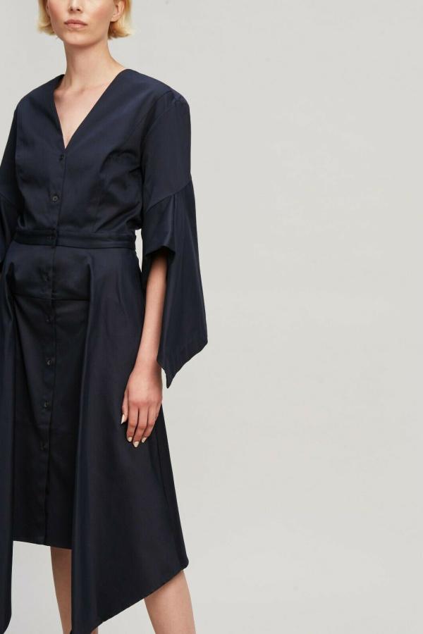 Palmer Harding  Asymmetric Sleeve Shirt Dress  4