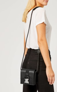 Christopher Kane Crystal Buckle Cross-Body Bag 4 Preview Images