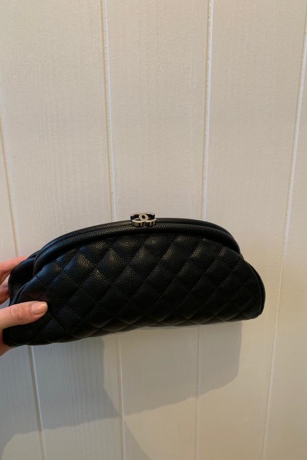 Image 4 of Chanel half moon clutch