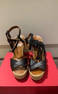 Valentino Garavani Black Wedges 4 Preview Images