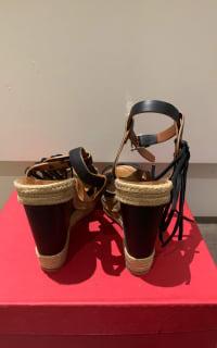 Valentino Garavani Black Wedges 3 Preview Images