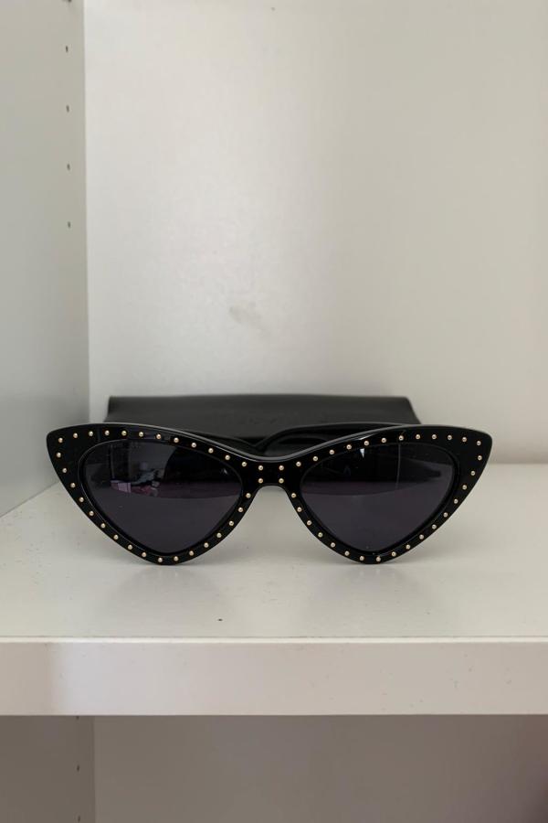 Moschino Studded cat eye sunglasses  4
