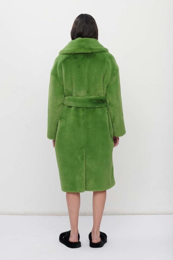 Image 3 of Jakke katrina coat bright green