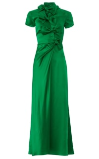 Saloni Green Kelly Dress Preview Images
