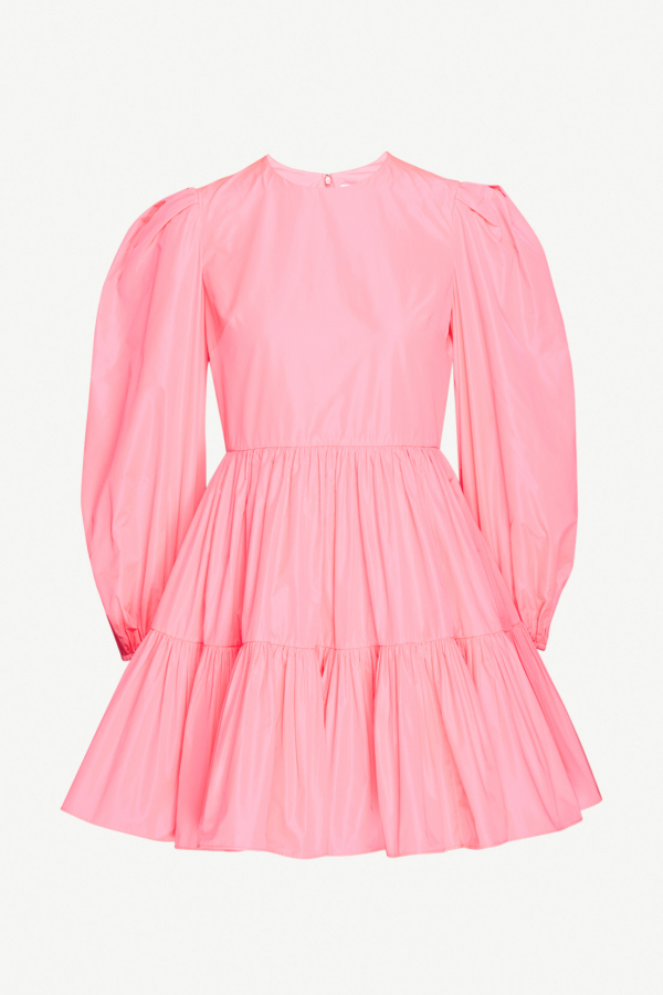 Valentino Tiered Pleat Dress