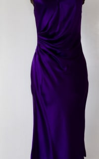 Amanda Wakeley Purple silk 3 Preview Images