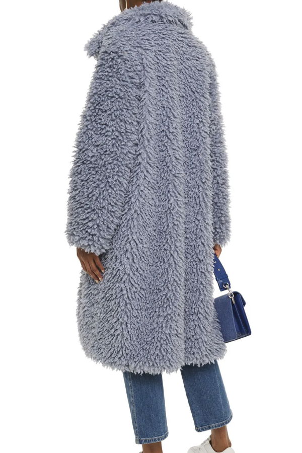 Stand Studio Taylor Faux Shearling Coat 3