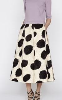 LK Bennett Monique Full Spotted Skirt 2 Preview Images