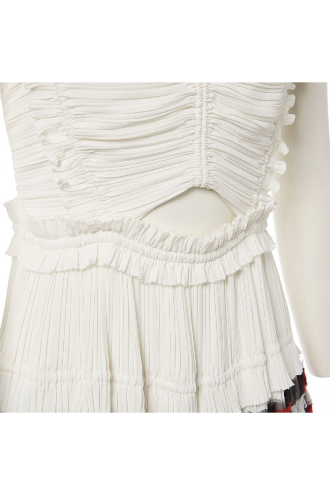 3.1 Phillip Lim Pleated Cream Dress 4 Preview Images