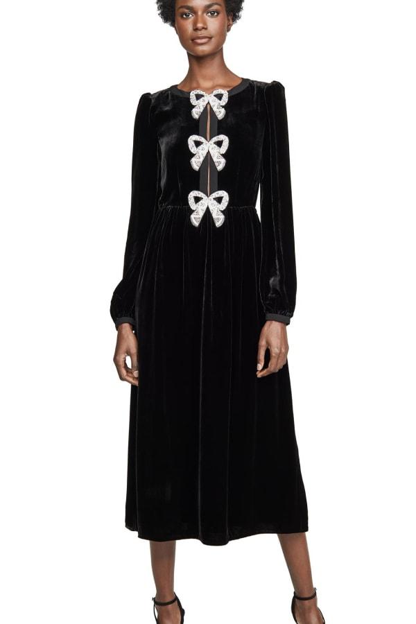 Image 2 of Saloni bows dress