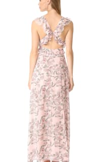 For Love and Lemons Bee Balm Floral Maxi Dress 5 Preview Images