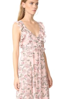 For Love and Lemons Bee Balm Floral Maxi Dress 3 Preview Images