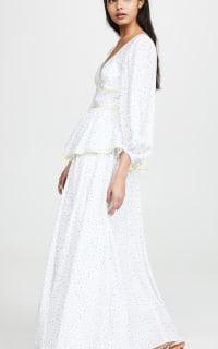 Staud Panarea floral maxi dress  2 Preview Images